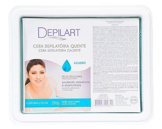 DEPILART Cera Depilatória Quente com Azuleno 250g (vencimento outubro/21)