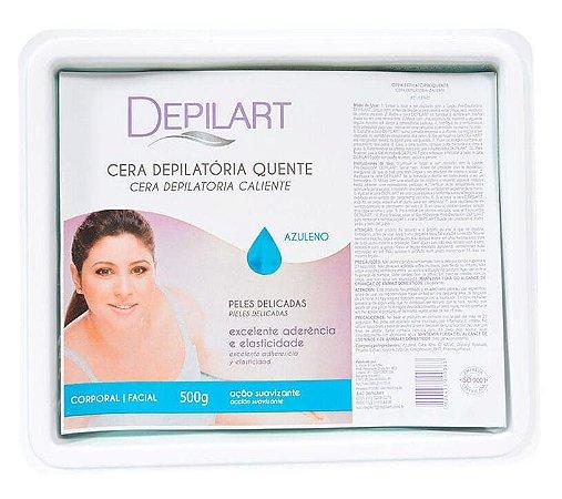 DEPILART Cera Depilatória Quente com Azuleno 500g (vencimento 07/21)