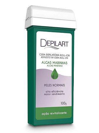 Depilart Cera Depilatória Roll-On Refil - 100g - Algas marinhas