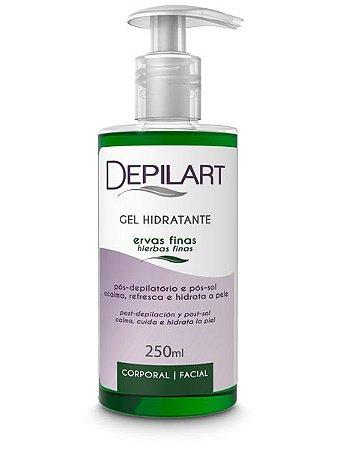 Depilart Gel Hidratante Pós-Depilação - 250ml -Ervas Finas