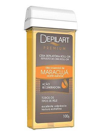 Depilart Premium Cera Depilatória Roll-On - 100g - Maracujá