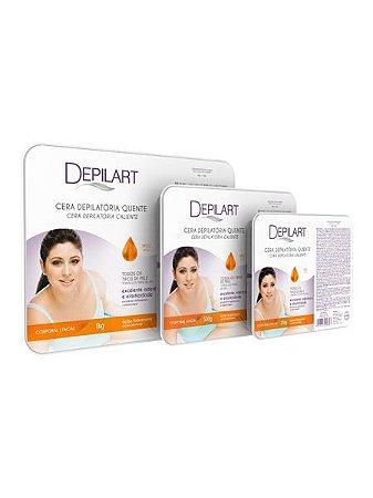 Depilart Cera Depilatória Quente com Mel para todos os tipos de pele 50g
