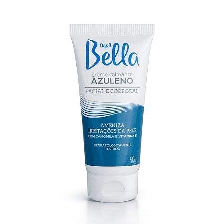 DEPIL BELLA Creme Calmante Azuleno Facial e Corporal com Camomila e Vitamina E 50g