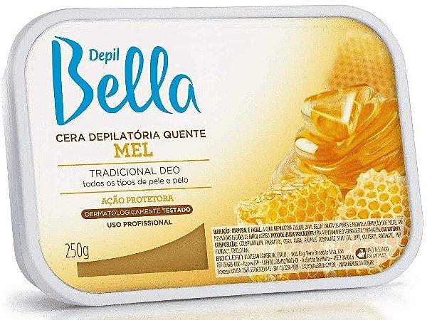 DEPIL BELLA Cera Depilatória Quente Mel 250g