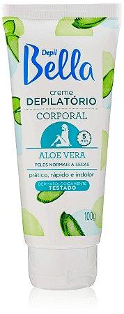 DEPIL BELLA Creme Depilatório Corporal Aloe Vera 100g