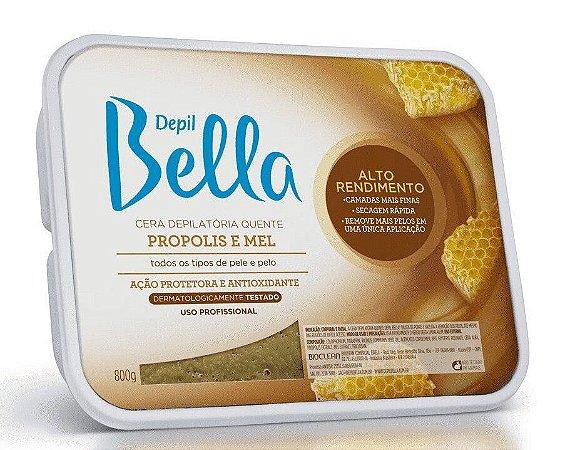 DEPIL BELLA Cera Depilatória Quente Propolis e Mel 800g