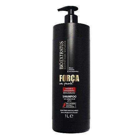 BIO EXTRATUS Força com Pimenta Shampoo para Crescimento 1L