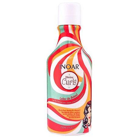 Inoar Divine Curls Shampoo Low Poo - 250ml