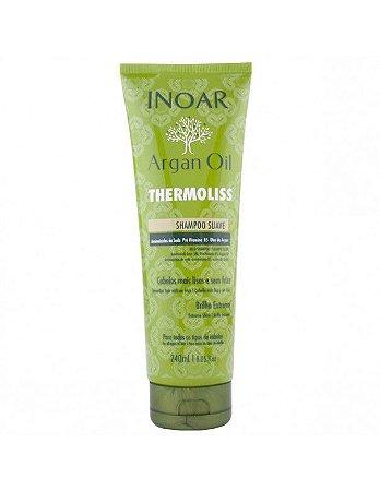 Inoar Argan Oil Thermoliss Shampoo - 240ml