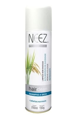 Neez Hair Clean Shampoo Seco Spray - Cabelos Secos - 250ml