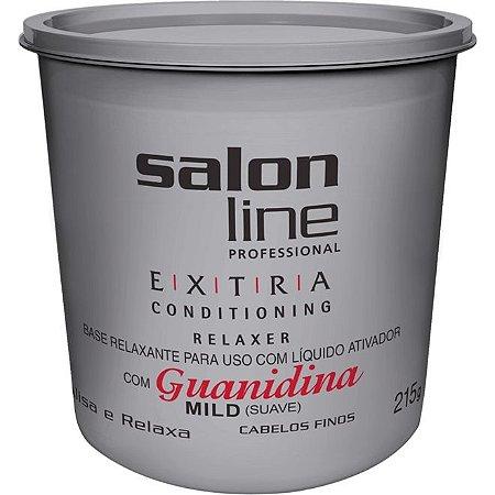 Salon Line Guanidina Extra Conditioning - Mild Cabelos Finos e Delicados - 215g