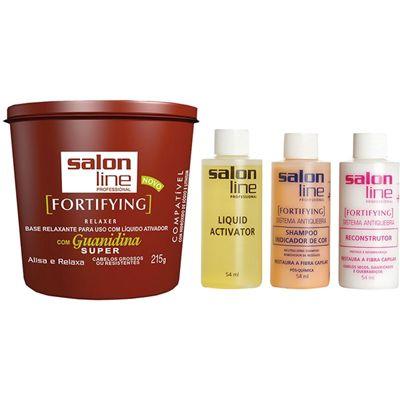 Salon Line Guanidina FortiFying - Super Cabelos Grossos e Resistentes - 215g
