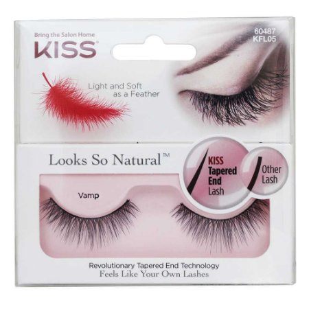 Kiss NY Looks So Natural Cílios Postiços Vamp (KFL05BR)