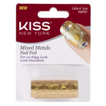 Kiss NY Mixed Metals Lots O'Lux (NAF01)