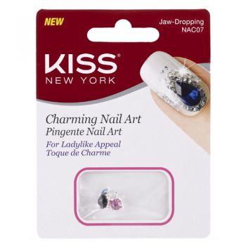 Kiss NY Nail Art Pingente para Unhas Jaw - Dropping (NAC07)