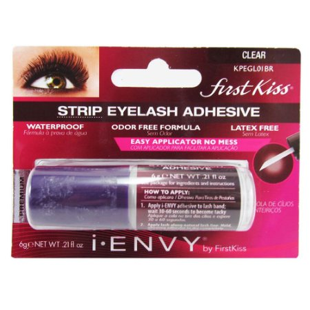 Kiss NY i.Envy Adhesive Eyelash Cola 24h Clear Incolor (KPEGL01BR)