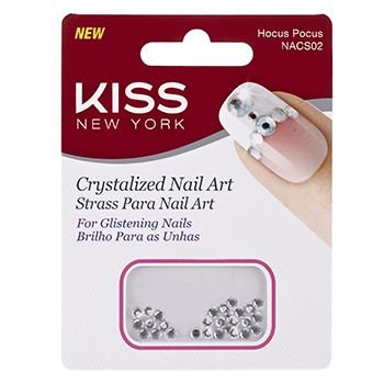 KISS NEW YORK Nail Art Strass para Unhas Hocus Pocus (NACS02)