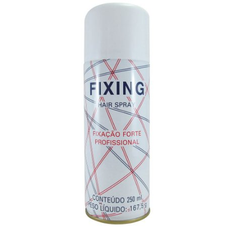 Fixing Hair Spray Fixação Forte 250ml