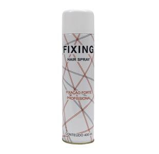 Fixing Hair Spray para Cabelos Fixação Forte 400ml