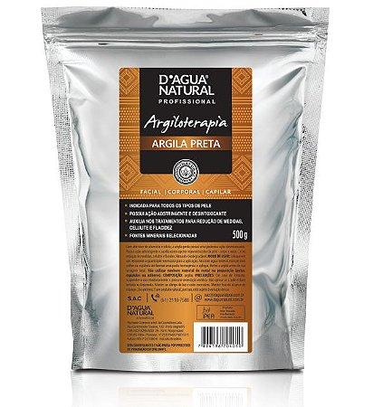 D'Água Argiloterapia Natural Creme Argila Preta 500g