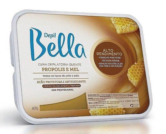 DEPIL BELLA Cera Depilatória Quente Propolis e Mel 400g