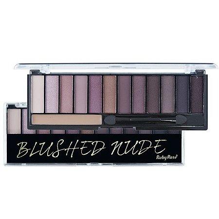 Ruby Rose Paleta de Sombras 12 Cores + 1 Primer HB-9913 - Blushed Nude
