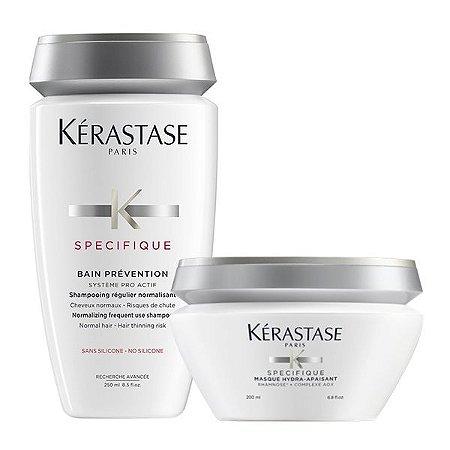 Kérastase Spécifique Kit Cabelos com Queda Bain Prevention 250ml + Masque 200ml
