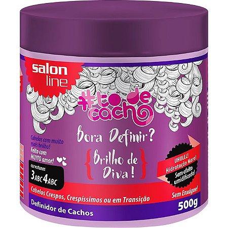 Salon Line #ToDeCacho Máscara Definidor de Cachos Brilho Vida 500g