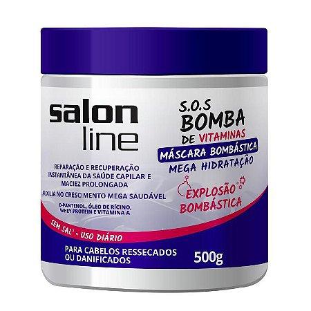 Salon Line SOS Bomba Máscara Bombástica - 500g