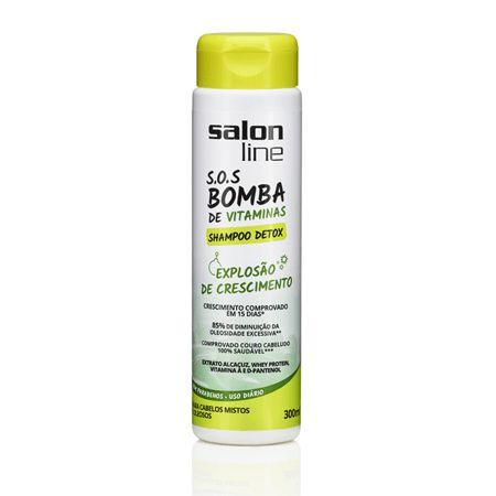 Salon Line SOS Bomba Shampoo Detox - Explosão de Crescimento - 300ml