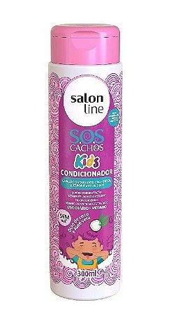 SALON LINE SOS Cachos Kids Condicionador Vegano 300ml