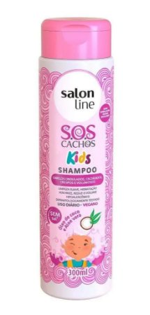 SALON LINE SOS Cachos Kids Shampoo Vegano 300ml