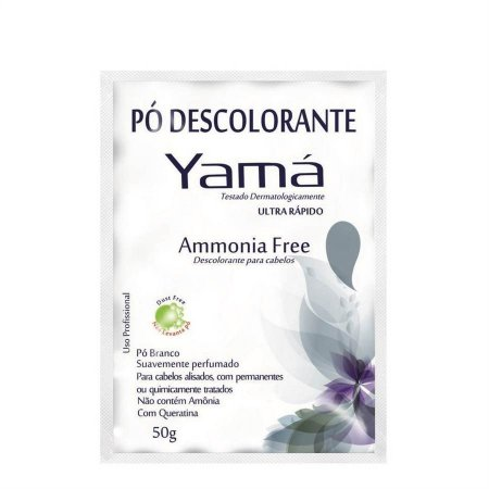 Yamá Descolorante Pó - Ammonia Free - 50g