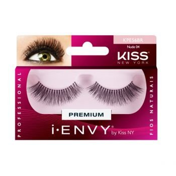 KISS NEW YORK i.Envy Cílios Postiços Nude 04 (KPE56BR)