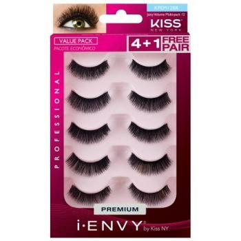 Kiss New York i.Envy Cílios Postiços Multi-Park Juicy Volume 12 (KPEM12BR) 5 Pares