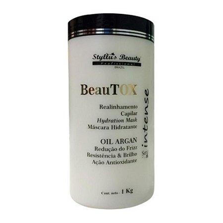 Beautox Máscara Botox Intense - Oil Argan - 1Kg
