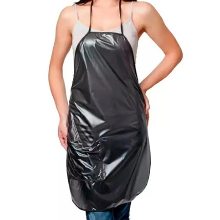 SANTA CLARA Avental para Tintura de PVC Ref.049 Preto (9807)