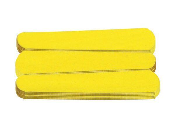 SANTA CLARA Lixa para Unhas Canário Amarela 144un (1062)