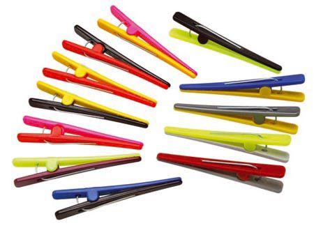 Santa Clara Clips Plástico Colorido 12Un (1423)