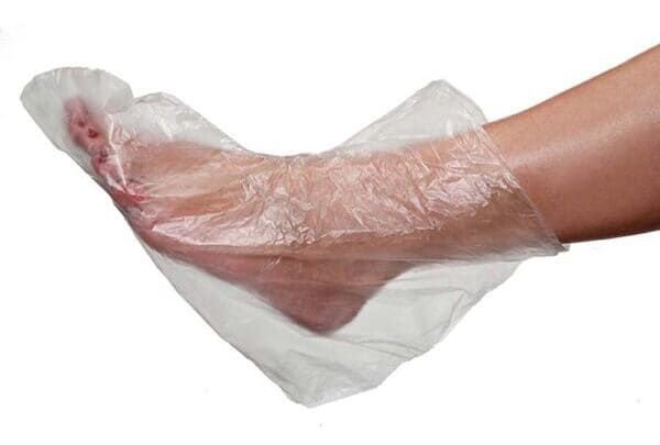 SANTA CLARA Protetor Descartável para Pés de Plástico 100un (1519)
