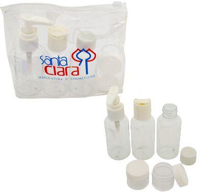 Santa Clara Kit de Viagem para Plástico Branco 5 peças (2004)