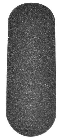 SANTA CLARA Refil de Lixa para os Pés Ref.116 Grossa Preta 50un (2289)