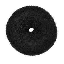 SANTA CLARA Donuts para Penteado Médio Preto importado (2453)