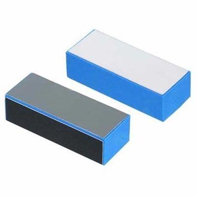 SANTA CLARA Lixa Cubo para Acabamento de Unhas Polidora 4 Faces Azul 1un (2564)