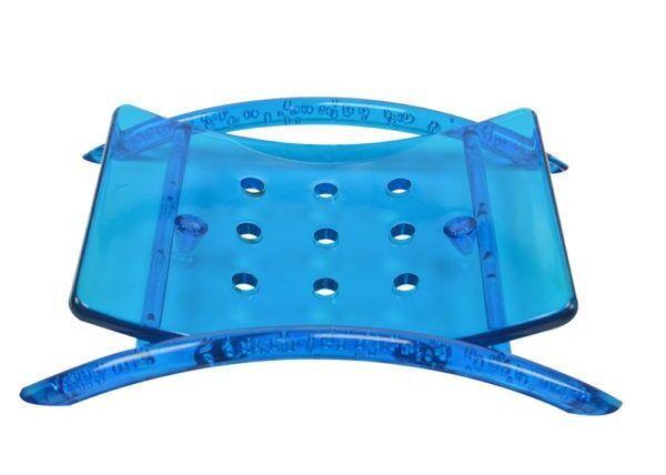 SANTA CLARA Saboneteira de Acrílico Classic Transparente (2615)