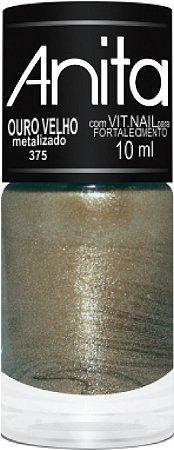 ANITA Esmalte Metalizado Ouro Velho 10ml