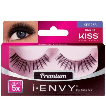Kiss New York i.Envy Cílios Postiços Diva 03 (KPE23S)