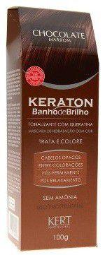 Kert Keraton Tonalizante Banho de Brilho - Chocolate - 100g