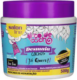 Salon Line #TODECACHO Máscara Desmaia Cachos Já Quero! -500g
