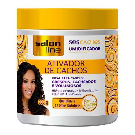Salon Line SOS Cachos Ativador de Cachos Umidificador - 500ml